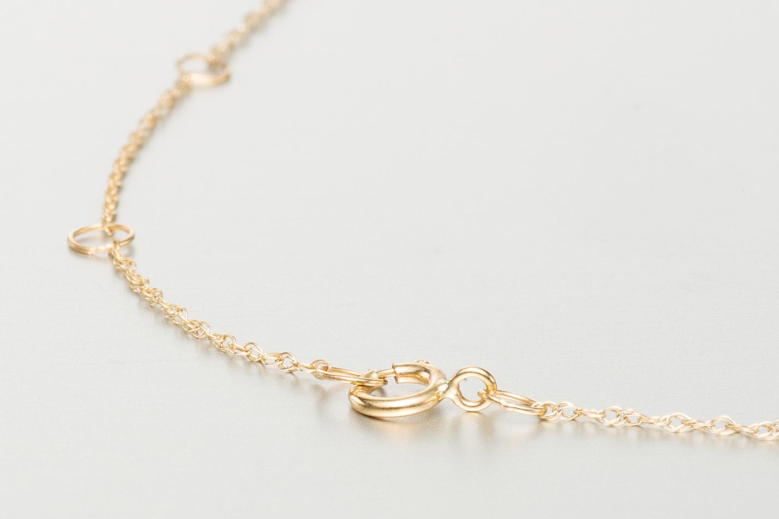 horizontal necklace gold bar necklace minimalist