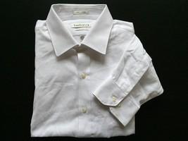 Van Heusen Men's Button-Front Shirt White SZ M 16.5 34/35 - $18.61
