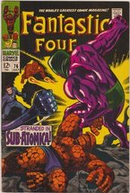 Fantastic Four #76 Silver Age Marvel Comic [Comic] by Stan Lee; Jack Kirby - $48.02