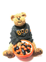 """Boyds Bearstone """"Lil' Boo..Trick or Treat' #919068- 1E- Halloween- 2007- Retired - $39.99"""