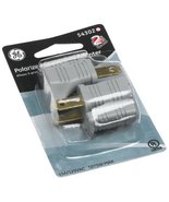 GE 54302 Grounded to Polarized Adapter, 2-Pack,... - $5.00