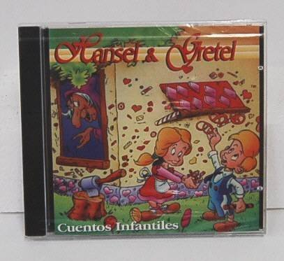 Hansel and Gretel Cicd 5009 Spanish Speaking Childrens Stories Audio Book [CD-RO