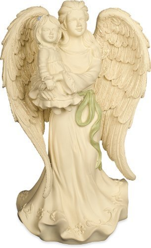 AngelStar Platinum Series 6-1/2-Inch Angel with Daughter Figurine, Precious
