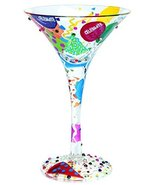 Lolita Martini Glasses Celebrate - $19.99