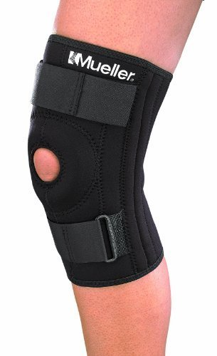 Mueller Patella Stabilizer Knee Brace, Large, Black, 1-Count  Package
