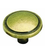 Amerock BP3443BB Allison Value 1-1/4in(32mm) DIA Knob - Burnished Brass - £1.66 GBP