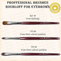 PROFESSIONAL Make-up BRUSHES FOR eyebrows ko10,vo06,vo08 Roubloff - $11.88+