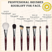 PROFESSIONAL Make-up BRUSHES FOR Face  go18,bo18,ha16, hf20,ho14,tf12,Ro... - $18.41+