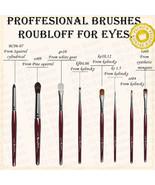 PROFESSIONAL Make-up BRUSHES FOR eyes Roubloff brand - $15.84+