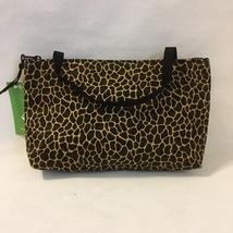 Giraffe Vegas Mini Tote Purse Handmade Fabric Handbag Make Up Bag Animal... - $40.00