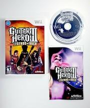 Guitar Hero III 3 Legends of Rock (Nintendo Wii, 2008) Complete with Man... - $13.25