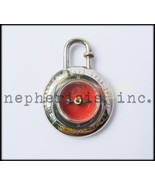 RARE Hermes YEAR OF THE ROAD 1995 COMPASS Sterling Silver Cadena or Bag ... - $1,350.00