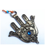 Special pewter hamsa with fertility bless and evil eye protection from I... - £12.92 GBP