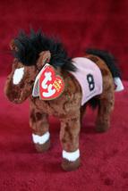 """Barbaro"" 2006 Kentucky Derby Winner   Ty Beanie Baby Extra Blank Heart - $18.99"