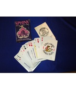 Sphinx Vintage 3 Question Oracle Card Reading - $19.99