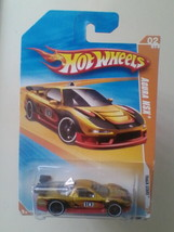 Die Cast Car Hot Wheels 1990 Acura Nsx #02 Track Stars Series Mattel Toys Nip - $8.99