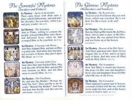 Lourdes - White Rosary - Holy Card - Prayer Booklet - prl-lourdes image 4