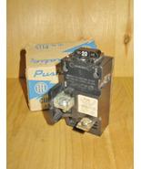 SIEMENS (ITE) BULLDOG PUSHMATIC 20 AMP 1 POLE CIRCUIT BREAKER (P120) ~ R... - $29.99