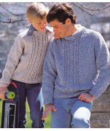 COUNTRY LIFE - KNIT MEN WOMEN SWEATERS VESTS CARDIGANS CABLES BEEHIVE PA... - $4.98