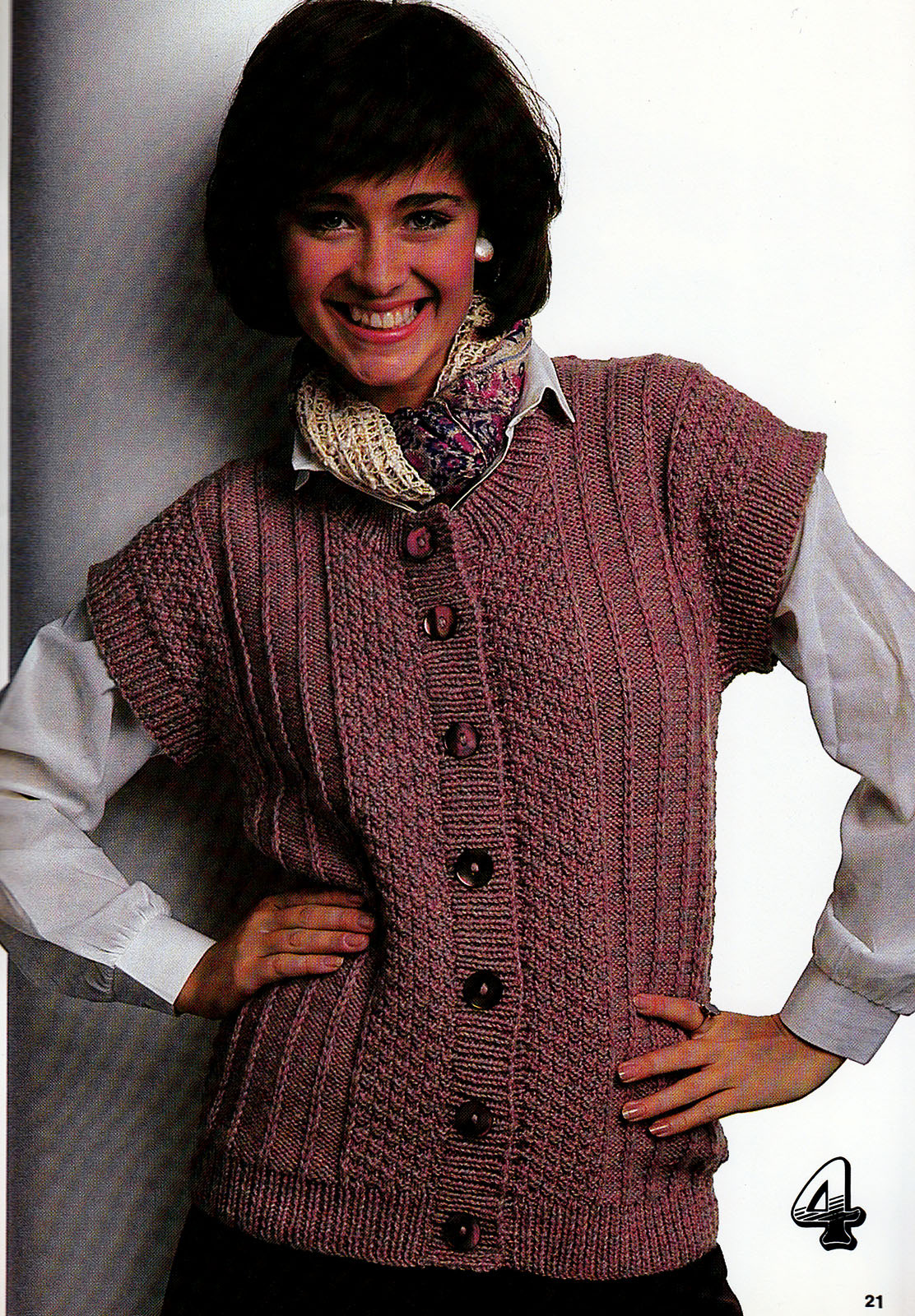 Primary image for BEST VESTS EVER KNITS VOLUME 2 PATONS BEEHIVE #468 WOMEN MENS