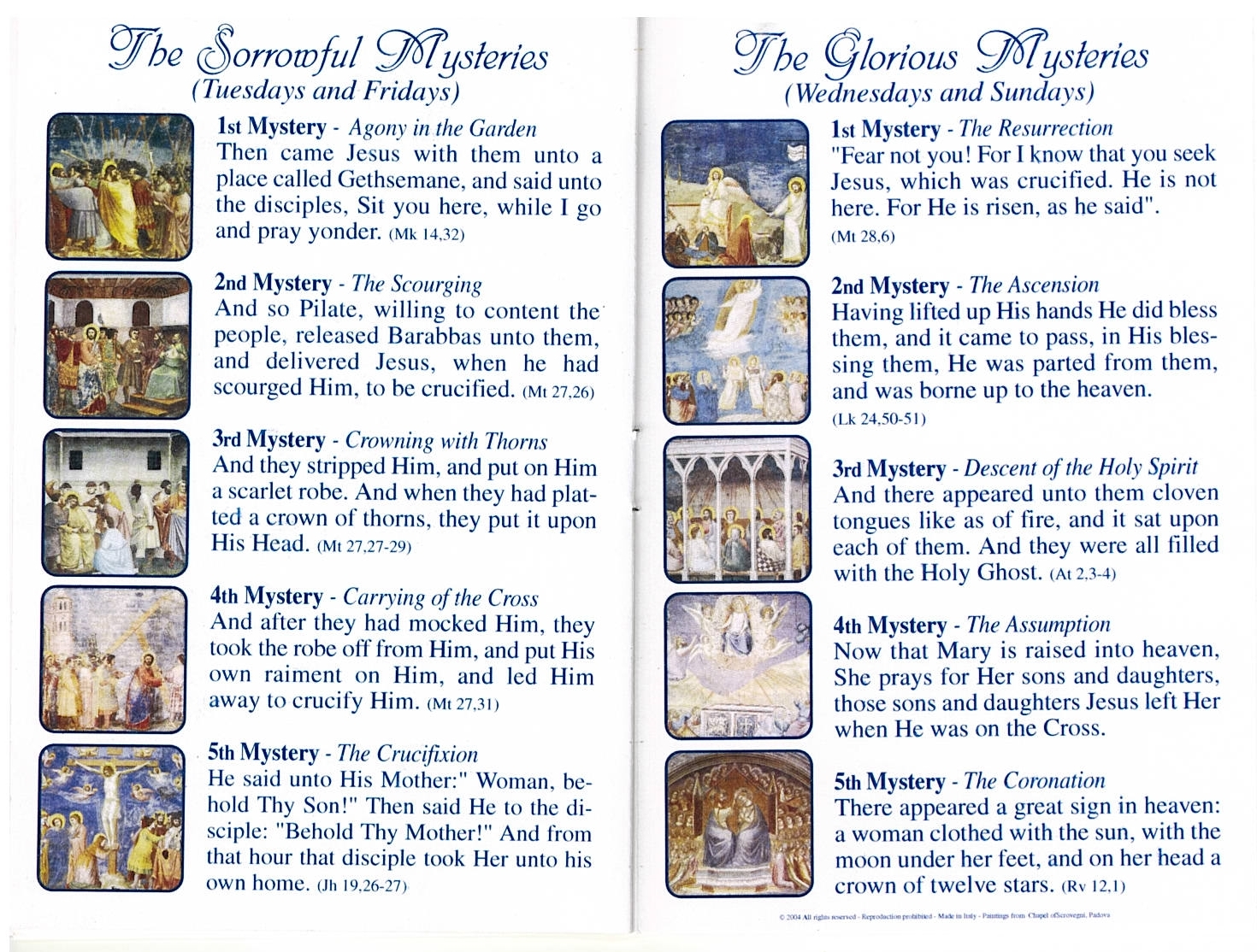 This is a graphic of Transformative How to Pray the Rosary Printable Booklet