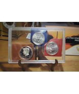 Three 2014 Kennedy Halves  (2014-S Proof, 2014-MS-P & 2014-MS-D) FREE Sh... - $13.95
