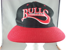 Chicago Bulls Hat (VTG) - Script Front - By Starter - New No Tags - Snapback - $65.00