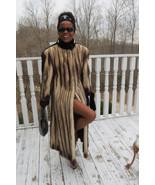 Designer Birger Christensen Full Length German sable Fitch & Mink Fur co... - $2,999.99