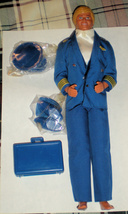 Barbie Doll - Ken Doll  - Airline Pilot (Flight Time Vintage 1989 Ken doll) - $26.00