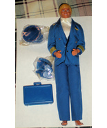 Barbie Doll - Ken Doll  - Airline Pilot (Flight Time Vintage 1989 Ken doll) - $25.00
