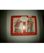 1994 Coca Cola Christmas Playing Cards in Tin  - $5.00
