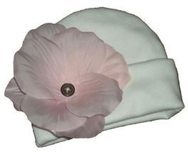 Preemie & Newbon Girl's Pink Rose Petal Hat   - $10.00