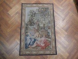 Romantic Randevous 4x6 Hand Woven Tappestry Wall Art - $1,118.38