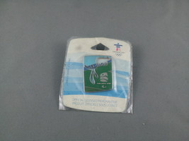 2010 Winter Paralympic Games Pin - Man and Bear - New in Original Packaging - $19.00