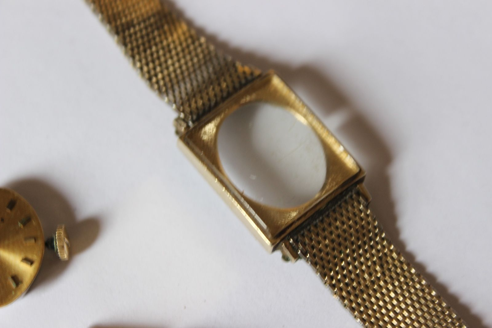 Vintage Longines Womens Watch 10k Gold Filled Not Working