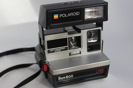 Polaroid Sun 600 LMS Instant Film Camera FULLY TESTED GREAT CONDITION - $140.00