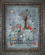 Dancing In The Moonlight cross stitch chart Praiseworthy Stitches - $10.80