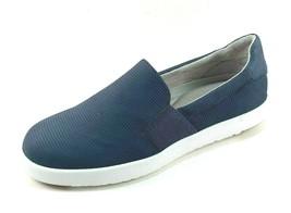 Aerosoles Call Back Dark Blue Leather Fashion Slip On Shoes - $47.20