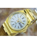 Beautiful Orient Ladies Automatic Vintage Gold Plated Watch Circa 1970 NR28 - $662.30