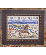 Shenandoah cross stitch chart Carriage House Samplings - $10.80