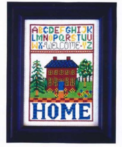 Home cross stitch chart Bobbie G Designs - $7.20