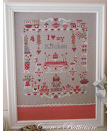 Un Amore Di Cucina cross stitch chart Cuore e Batticuore  - $11.70