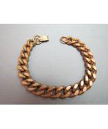 Vintage Marked Solid Copper Link Bracelet Chain... - $45.53