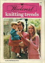 Woolcrest Knitting Trends Pattern Magazine 1st Issue F.W. Woolworth Co. ... - $2.98