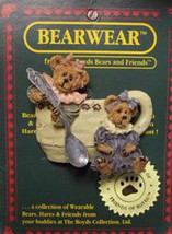 "Boyds BearWear ""Prissie & Missie"" #02000-72-Resin Pin- Event- New-2000- Retired - $6.99"