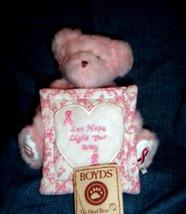"Boyds Bear ""Dawn L. Bearywell"" #95333LB  8"" Longaberger LE Bear-  2007- NWT - $39.99"