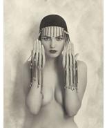 Art Deco Exotic Femme Fatal Photo-5x7 Repro - $7.95