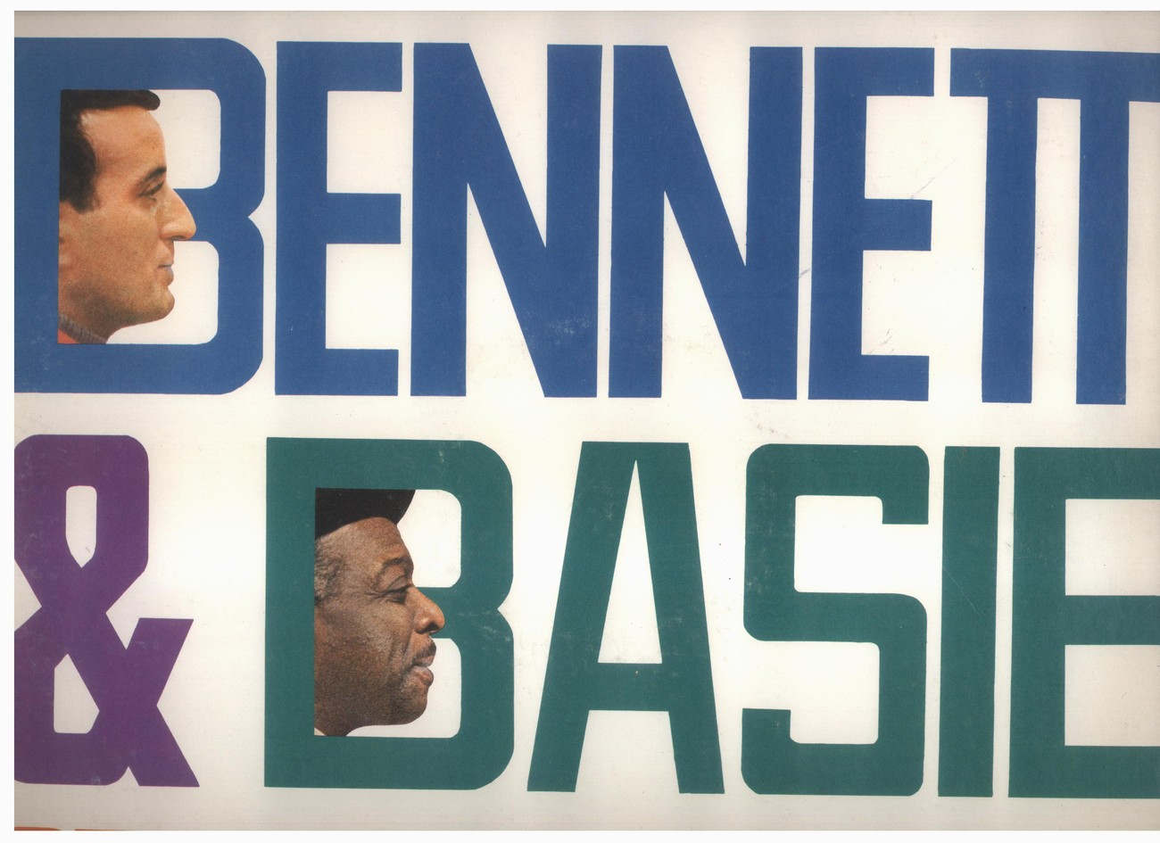 Tony Bennett & Count Basie LP Strike Up The Band