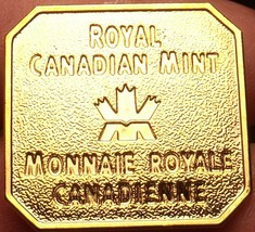 Royal Canadian Mint Uncirculated Medallion~Bendable Clips On The Back~Fr... - $7.28