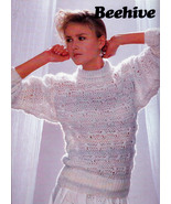 ON THE GO HURRY KNITS BEEHIVE PATONS 464  VEST PULLOVERS SWEATERS - $4.98